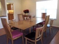 Village home dining room